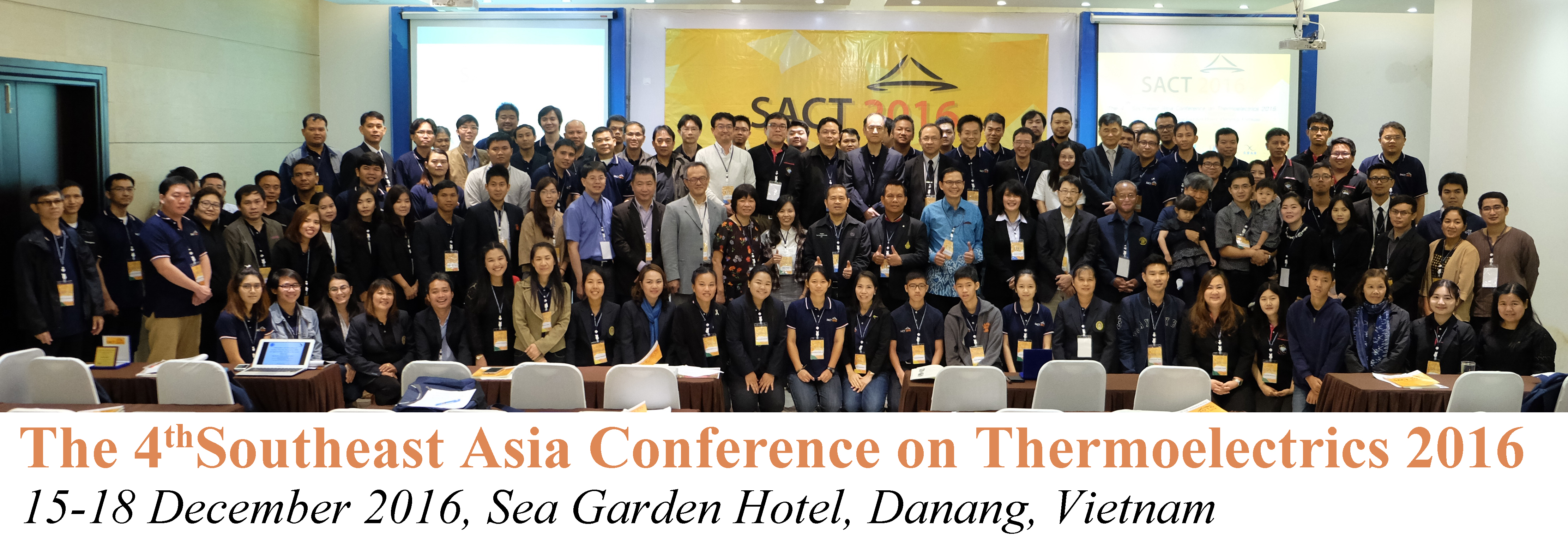 The 4th Southeast Asia Conference on Thermoelectrics 2016